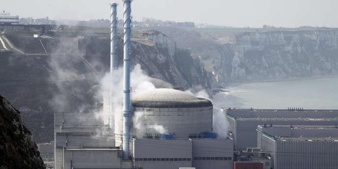 Centrale nucléaire de Penly, en Seine-Maritime.
