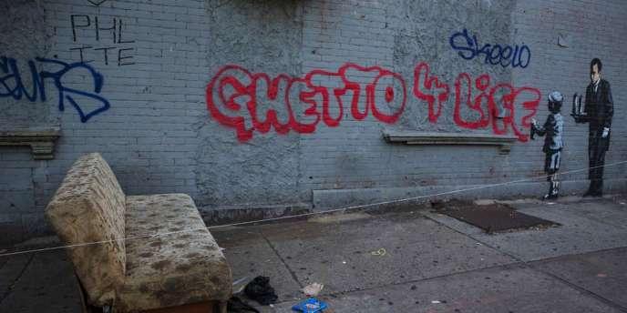 Œuvre de Banksy, créée le 21 octobre.