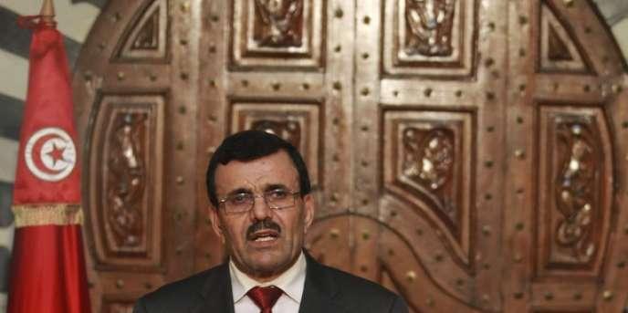 Le premier ministre tunisien Ali Larayedh, le 23 octobre à Tunis.