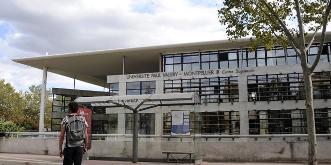 L'antenne de Béziers de l'université Montpellier-III, le 30 septembre 2013.