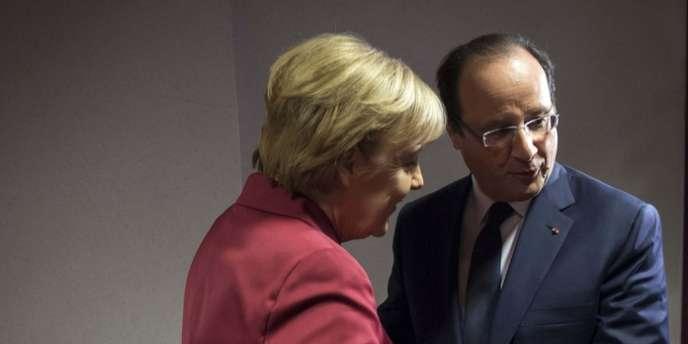 Angela Merkel et François Hollande ont dénoncé