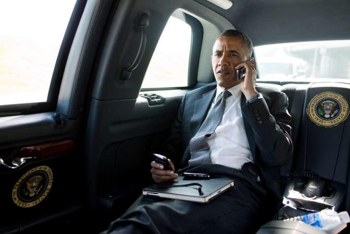 Barack Obama (ici le 20 juillet) est affaibli par les révélations sur l'espionnage de la NSA.
