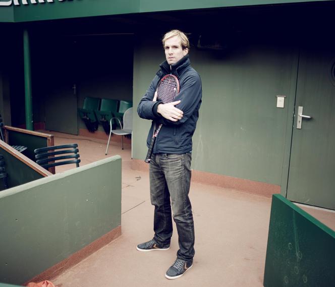 Charles-Antoine Brézac, le 14 octobre à Roland-Garros.