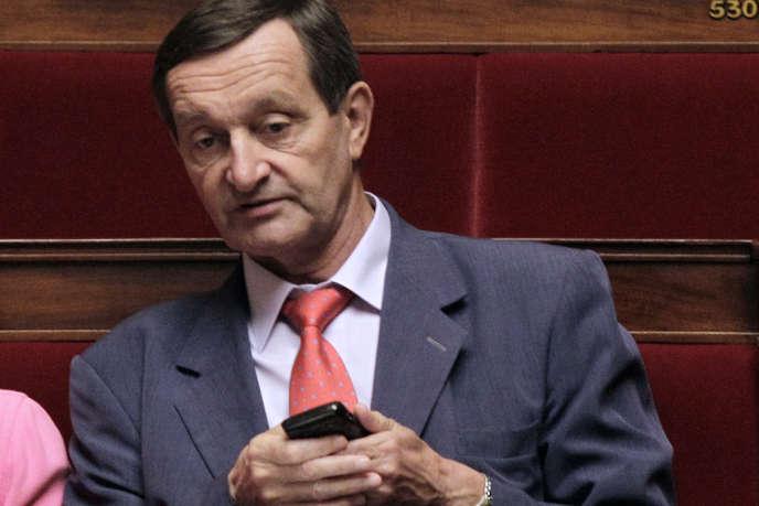 Le député Gérard Bapt, député PS et président du groupe d'amitié France-Syrie à l'Assemblée, à l'Assemblée en 2011.