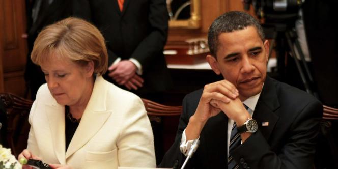 Le chef de la NSA aurait informé Barack Obama d'une opération d'écoute des communications de la chancelière dès 2010, selon des médias allemands.