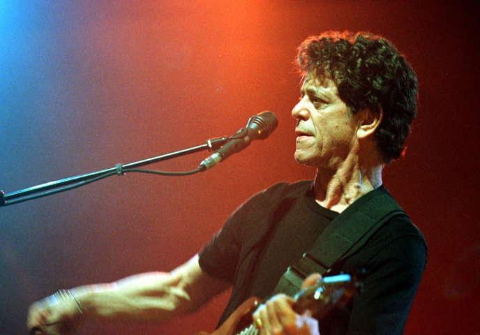 Lou Reed en 2000 au Printemps de Bourges.