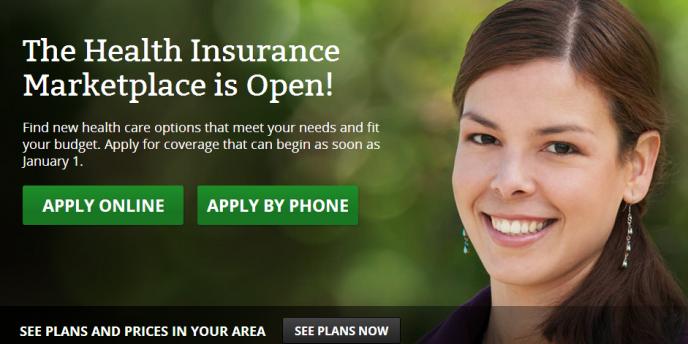 Le site Internet de l'assurance fédérale, Healthcare.gov.
