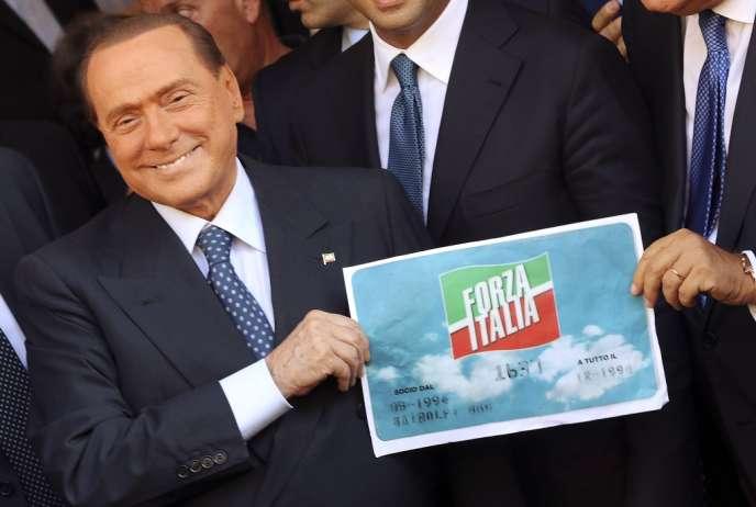 Silvio Berlusconi, le 19 septembre à Rome.