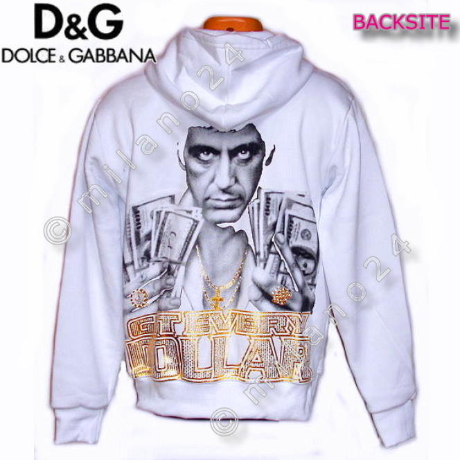 Hoody D&G, par Dolce & Gabbana.