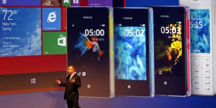 Les ventes du Lumia, le smartphone avec lequel Nokia essayait de concurrencer les appareils Samsung et Apple, ont augmenté de 19 % par rapport au trimestre précédent.