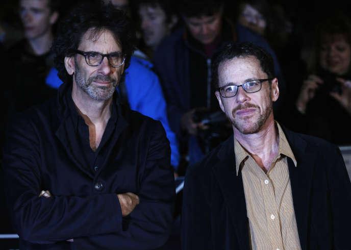 Joel et Ethan Coen à Londres, le 15 octobre 2013.
