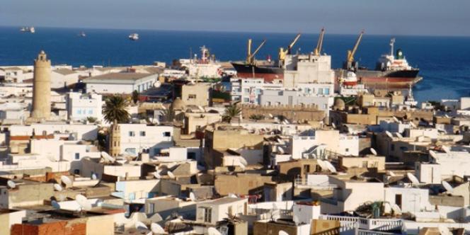 Vue de la ville de Sousse.