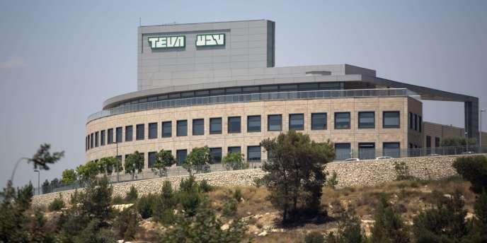 L'usine Teva de Jérusalem, en juin 2013.