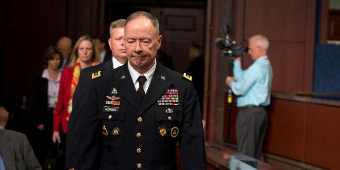 Le directeur de la NSA, Keith Alexander à Washington, le 29 octobre.