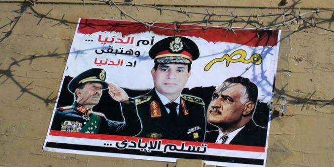 Le général Abdel-Fattah Al-Sissi est devenu le nouvel homme fort de l'Egypte après que l'armée a déposé le président islamiste Mohamed Morsi, le 3juillet.