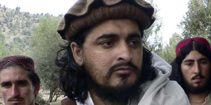Le chef du mouvement des talibans pakistanais, Hakimullah Mehsud, le 4 octobre 2009.