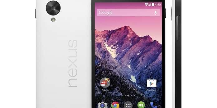 Google présente son dernier smartphone, le Nexus 5