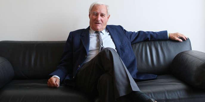 Gérard de Villiers, en 2007.