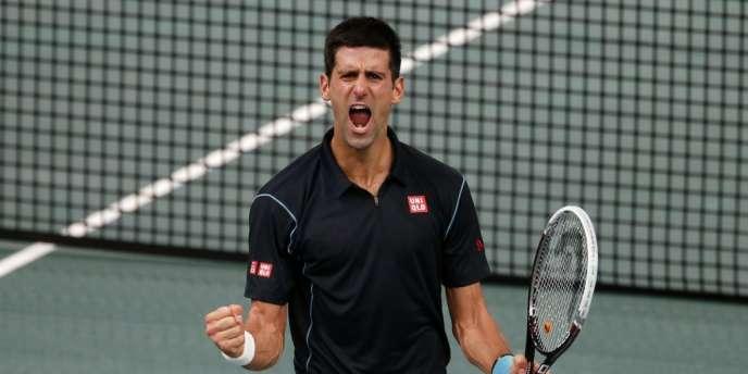 Novak Djokovic s'est qualifié pour la finale du Masters de Bercy, le 2 novembre.