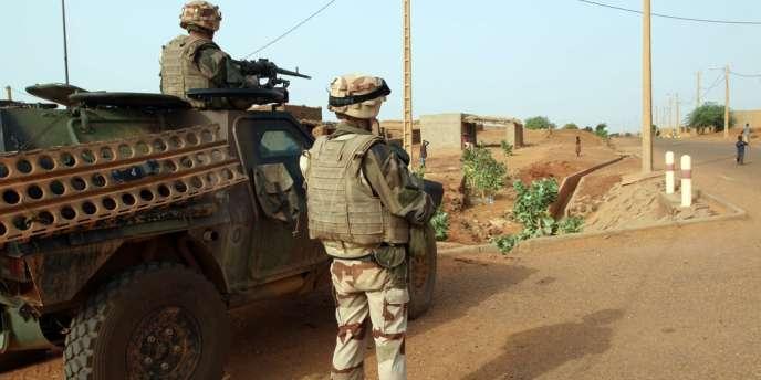Des militaires français au Mali, en octobre2013.