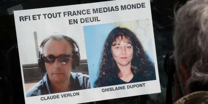 Claude Verlon et Ghislaine Dupont, envoyés spéciaux de RFI, exécutés au Mali, le 2 novembre.