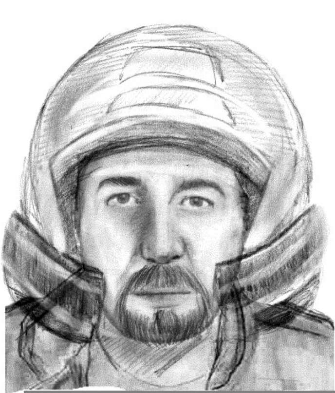 Portrait-robot diffusé par la gendarmerie dans l'enquête sur la tuerie de Chevaline.