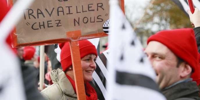 Après le succès de leur manifestation à Quimper, samedi, les leaders de la fronde bretonne avaient été invités à une rencontre avec le préfet de Bretagne, mardi.