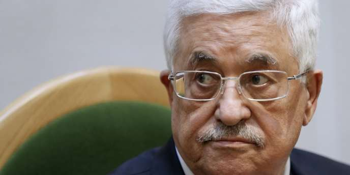 Le président de l'Autorité palestinienne Mahmoud Abbas en octobre.