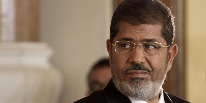 Mohamed Morsi, l'ancien président égyptien, le 13 juillet 2012.