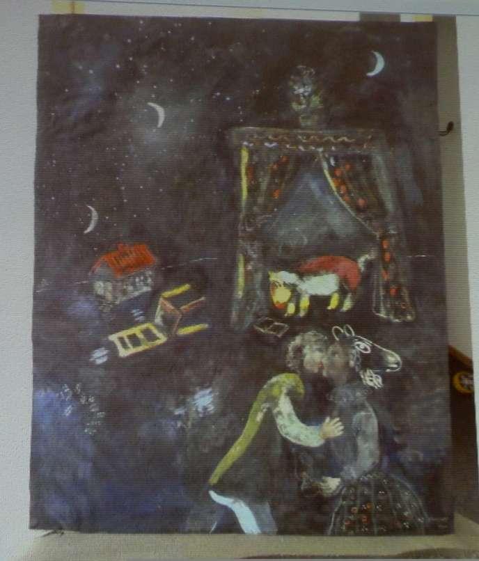 Un Chagall inconnu faisait partie des découvertes faites chez l'octogénaire Munichois, Cornelius Gurlitt.