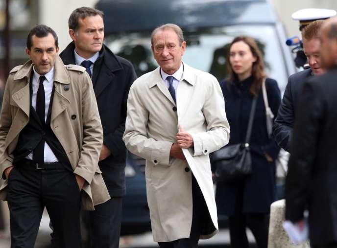 Bertrand Delanoë, maire de Paris, le 16 octobre.