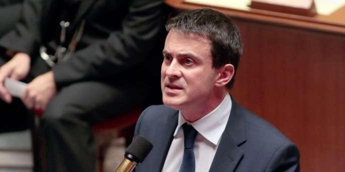 Le ministre de l'intérieur, Manuel Valls, le 5 novembre.