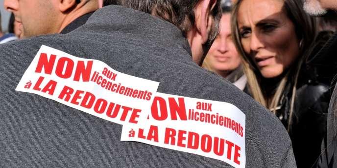 Au minimum, 678 emplois seraient menacés par la cession de La Redoute.