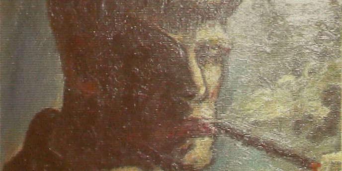 Autoportrait d'Otto Dix faisant partie des 1 400 œuvres confisquées par les nazis et découvertes à Munich en 2011.