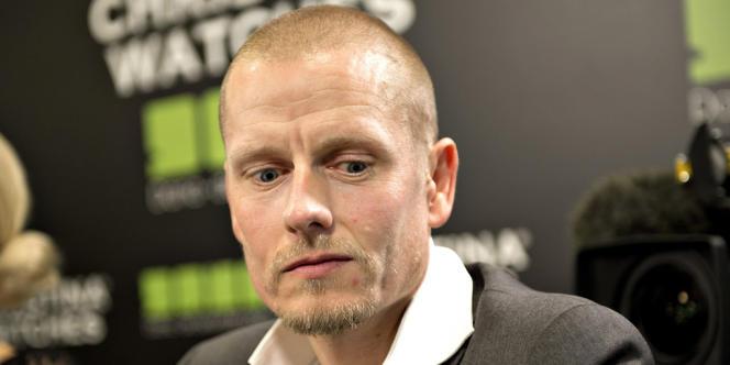 L'ex-cycliste Michael Rasmussen, l'autre repenti de la petite reine, le 31 janvier à Herning aux Pays-Bas.