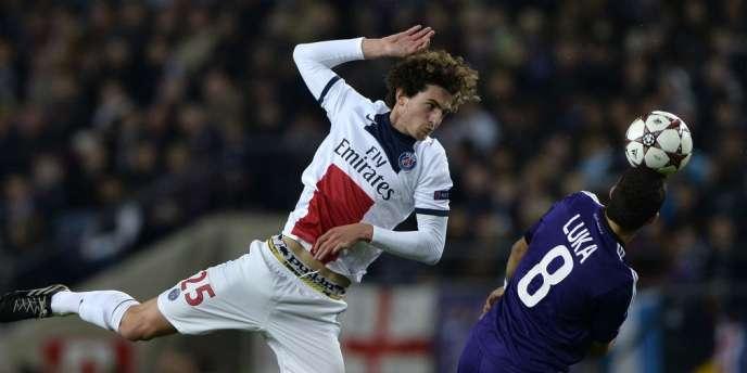 Après avoir fait tourner son effectif contre Lorient en championnat, avec notamment Jérémy Ménez, Lucas Digne ou encore du jeune Adrien Rabiot, Blanc alignera une équipe proche de l'équipe type mardi soir.