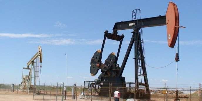 Un puits de pétrole au Texas.