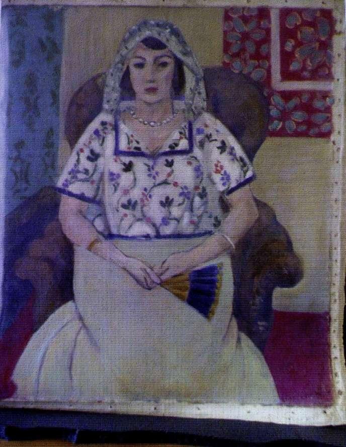 Cette toile d'Henri Matisse aurait été volée par les nazis au galeriste Paul Rosenberg.