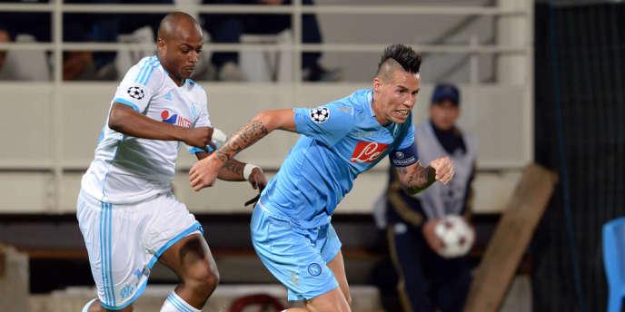 L'OM joue à Naples mercredi en Ligue des champions.