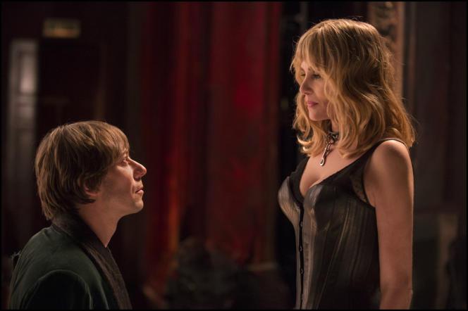 Mathieu Amalric et Emmanuelle Seigner dans le film français de Roman Polanski,