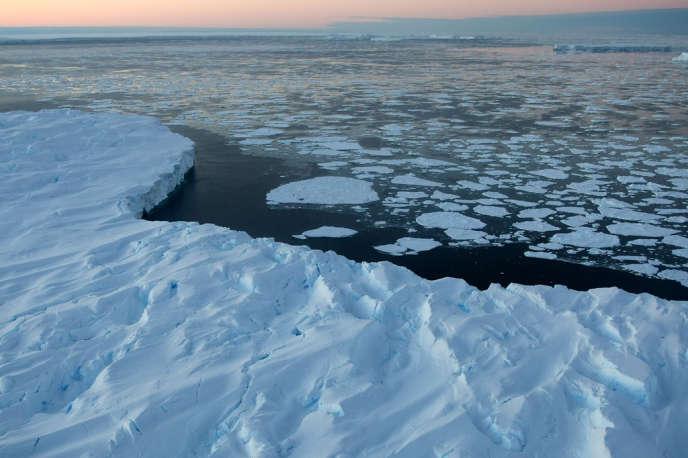 L'Antarctique, en 2008.