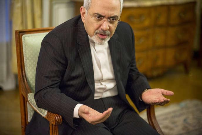 Mohammad Javad Zarif, 53 ans, ministre des affaires étrangères iranien, se rend à Genève pour la reprise, le 7 novembre, des négociations sur le dossier nucléaire.
