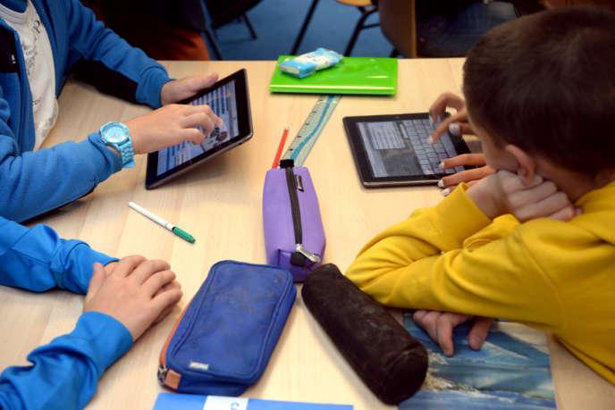 Dans une école de Saint-Brieuc en septembre.