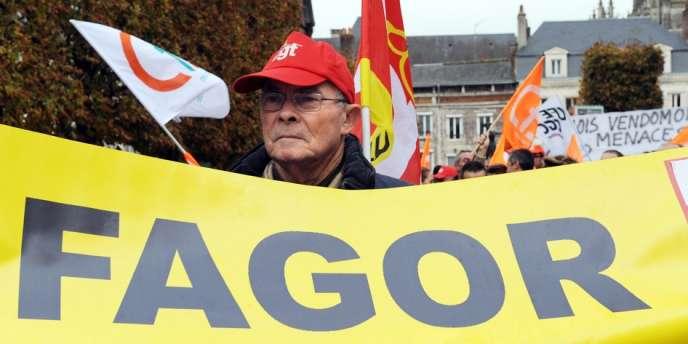 La faillite de FagorBrandt, l'un des champions de l'électroménager en France, met en péril 1 870 emplois.