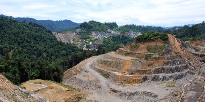 Lorsque le barrage de Murum sera achevé, des milliers d'hectares de terres Penan seront submergés.