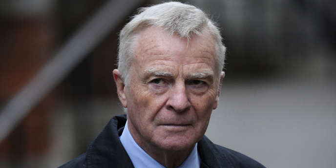 Max Mosley, l'ex-patron de la Fédération internationale de l'automobile, en novembre 2011.