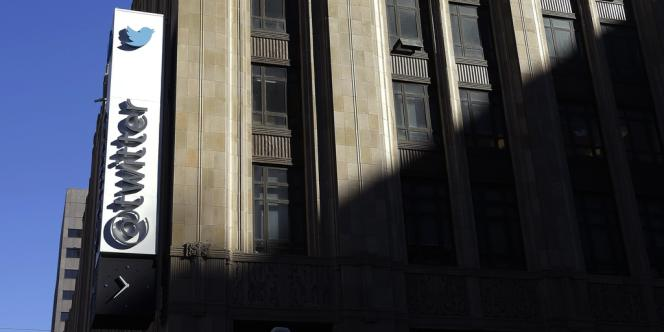 Au siège de Twitter, à San Francisco, le 4 novembre.