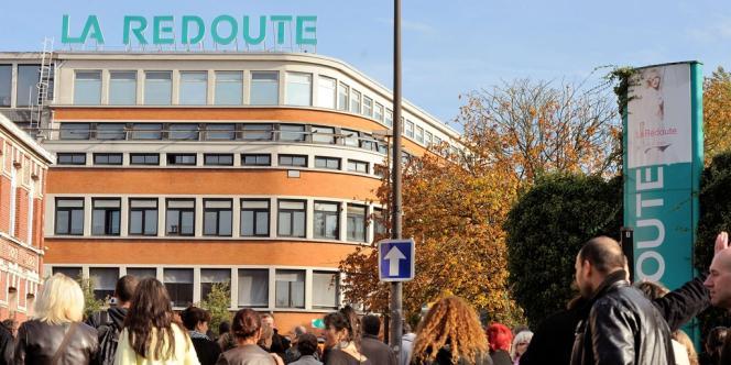 Manifestation des salariés de La Redoute, à Roubaix, le 22 octobre 2013.
