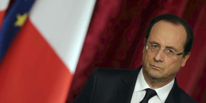 Le président a annoncé que les effectifs militaires français en République centrafricaine seront doublés « d'ici quelques jours ».