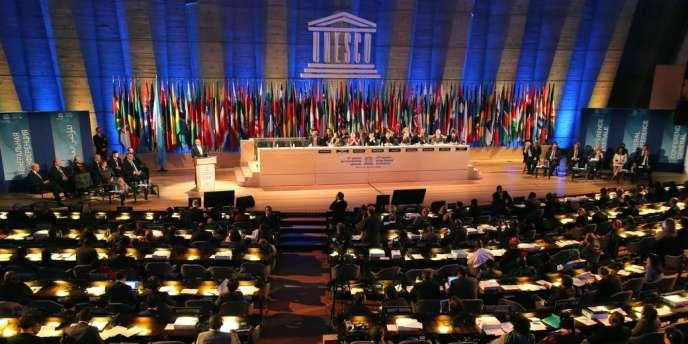 La 37e session de l'Assemblée générale de l'Unesco, à Paris le 6 novembre.